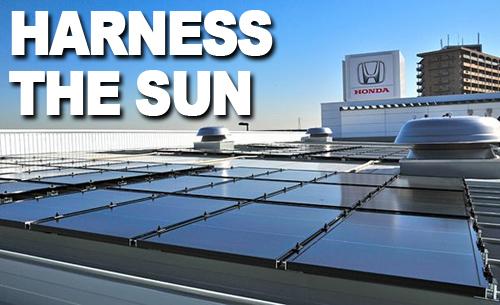 Honda-Solar-Panels